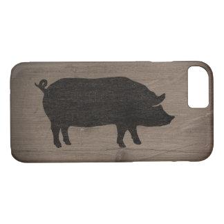 Capa iPhone 8/7 Silhueta do porco
