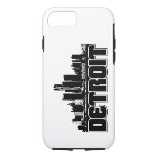 Capa iPhone 8/7 Skyline de Detroit