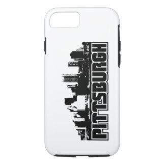 Capa iPhone 8/7 Skyline de Pittsburgh