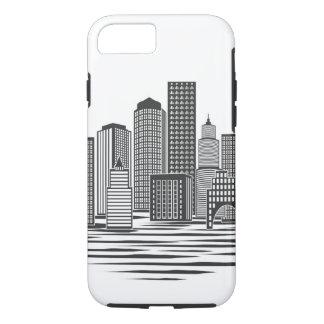 Capa iPhone 8/7 Skyline moderna da cidade