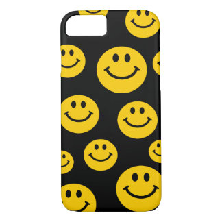 Capa iPhone 8/7 Smiley face amarelo