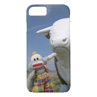 Capa iPhone 8/7 SockMonkey e amigo