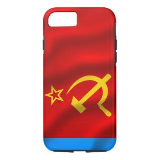 Capa iPhone 8/7 Soviete Fed do russo. Representante socialista.