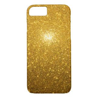 Capa iPhone 8/7 Sparkles dourados