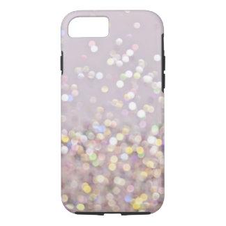 Capa iPhone 8/7 Sparkles Pastel macios de Bokeh