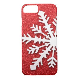 Capa iPhone 8/7 Sparkles vermelhos do Natal