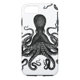 Capa iPhone 8/7 Steampunk Kraken resistente - polvo do Victorian