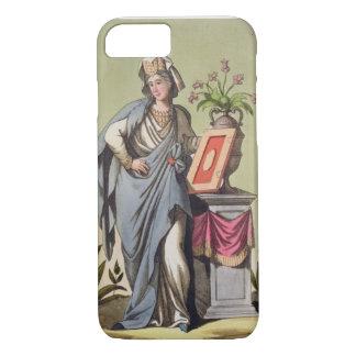 """Capa iPhone 8/7 Sybil de Cumae, no. 16 """"de Roma antiga"""", engrav"""