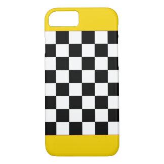 Capa iPhone 8/7 Tabuleiro de damas Sparkly CricketDiane do táxi do