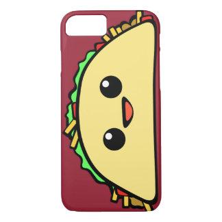 Capa iPhone 8/7 Taco de Kawaii