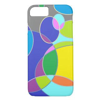 Capa iPhone 8/7 Tangerina brilhante da bolha