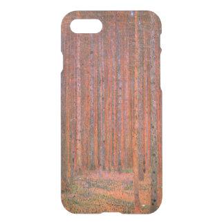 Capa iPhone 8/7 Tannenwald mim por belas artes de Gustavo Klimt