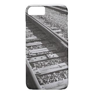 Capa iPhone 8/7 Telefone das trilhas de estrada de ferro
