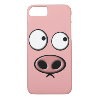 Capa iPhone 8/7 Telefone do porco