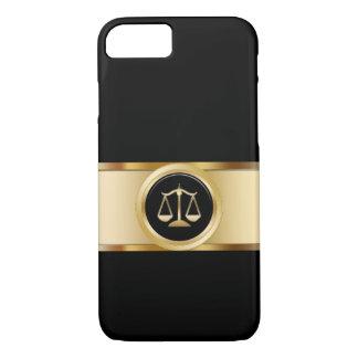 Capa iPhone 8/7 Tema elegante do advogado