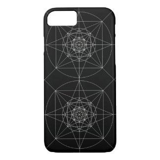 Capa iPhone 8/7 Terceira geometria sagrado dimensional