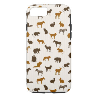 Capa iPhone 8/7 Teste padrão animal 1