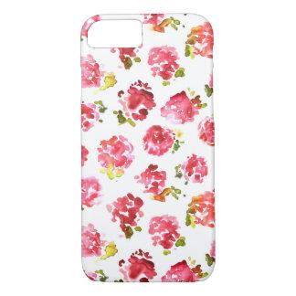 Capa iPhone 8/7 Teste padrão cor-de-rosa bonito e elegante dos