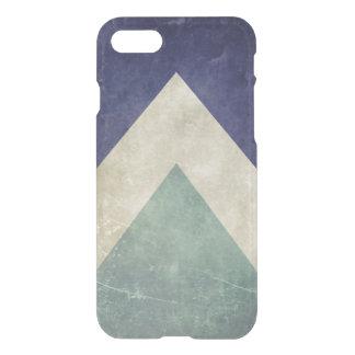 Capa iPhone 8/7 Teste padrão do triângulo do vintage