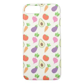 Capa iPhone 8/7 Teste padrão vegetal misturado