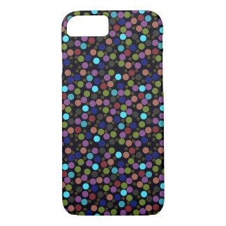 Capa iPhone 8/7 textura das bolinhas