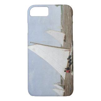Capa iPhone 8/7 Thomas Eakins - veleiros que competem no Delaware