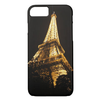 Capa iPhone 8/7 Torre Eiffel em a noite