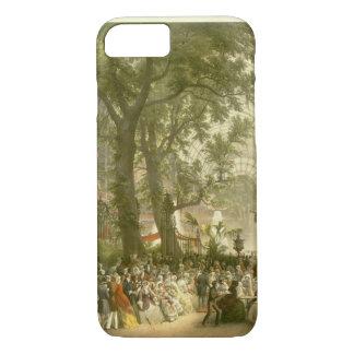 Capa iPhone 8/7 Transept do palácio de cristal, 1851 (colorido
