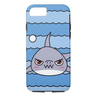 Capa iPhone 8/7 Tubarão de Kawaii