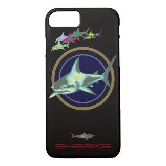 Capa iPhone 8/7 tubarões perigosos