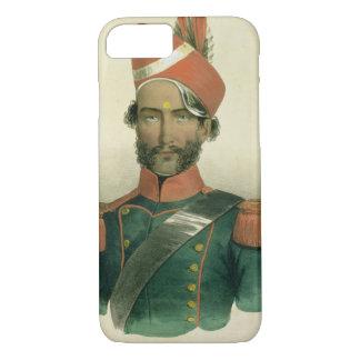 Capa iPhone 8/7 Um Sepoy: um soldado índio no batalhão francês