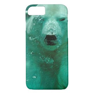 Capa iPhone 8/7 Urso polar subaquático