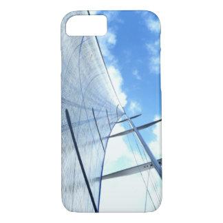 Capa iPhone 8/7 Vela de patíbulo e imagem do mastro