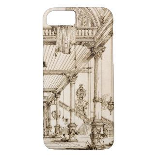 Capa iPhone 8/7 Vestíbulo de um palácio, nos genes, 'da arte e do