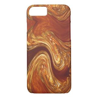 Capa iPhone 8/7 Vidro de cobre de derretimento