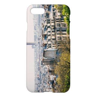 Capa iPhone 8/7 Vista de Paris do monte de Montmartre