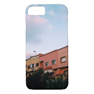 Capa iPhone 8/7 vista do caso do iphone 6 das casas