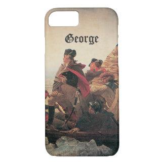 Capa iPhone 8/7 Washington que cruza o Delaware por Emanuel Leutze