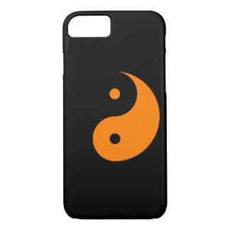 Capa iPhone 8/7 Yin Yang - laranja 2