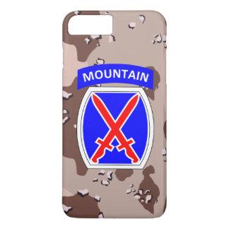 """Capa iPhone 8 Plus/7 Plus 10o Divisão """"escalada da montanha à glória"""" Camo"""