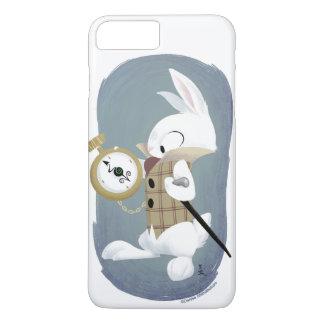 Capa iPhone 8 Plus/7 Plus A caixa branca do iPhone 6plus do coelho