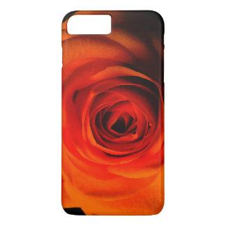 Capa iPhone 8 Plus/7 Plus A laranja vermelha aumentou