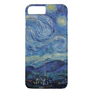 Capa iPhone 8 Plus/7 Plus A noite estrelado pelo exemplo de Vincent van Gogh