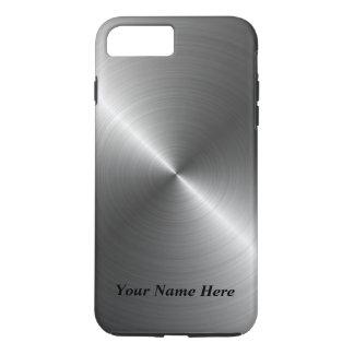 Capa iPhone 8 Plus/7 Plus Adicione seu caso de aço conhecido do iPhone 8 do