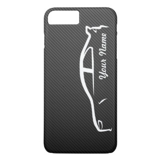 Capa iPhone 8 Plus/7 Plus Adicione seu nome - evolução X com fibra do