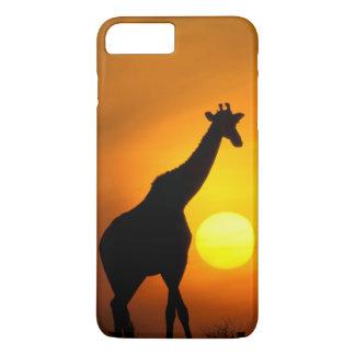 Capa iPhone 8 Plus/7 Plus África, Kenya, Masai Mara. Girafa (girafa