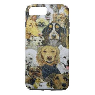 Capa iPhone 8 Plus/7 Plus Amigos do cão
