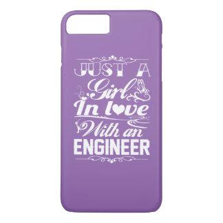 Capa iPhone 8 Plus/7 Plus Amor com um engenheiro