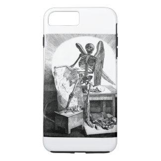 Capa iPhone 8 Plus/7 Plus Anjo da anatomia do vintage da morte