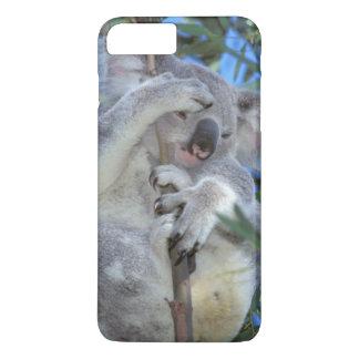 Capa iPhone 8 Plus/7 Plus Austrália, Koala Phasclarctos Cinereus)